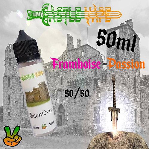 E-liquide Castle Vape, Guenièvre, Framboise / Passion 50ml