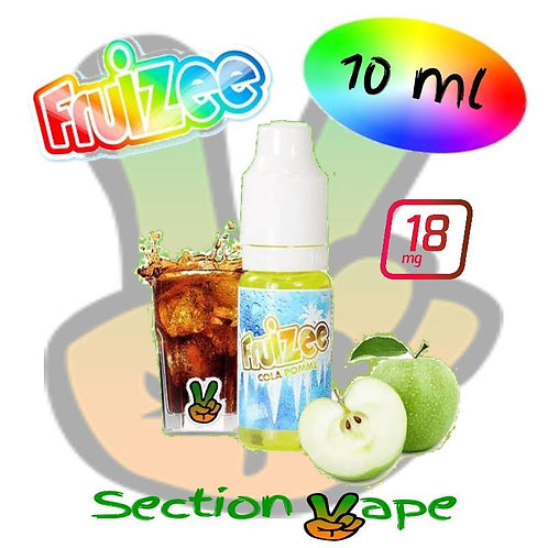 Booster 18mg, 10ml Fruizee Cola / Pomme