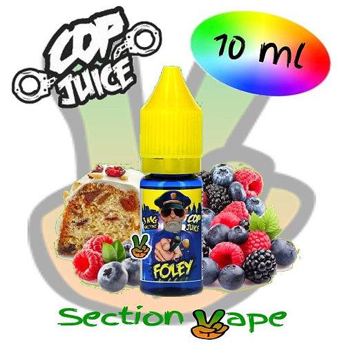 E - liquide Cop Juice, Foley, 10ml