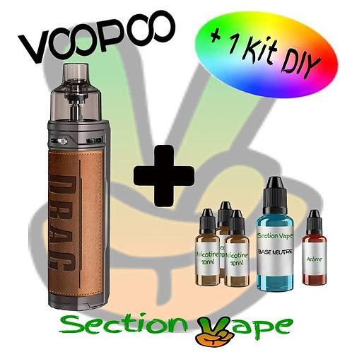 Kit Pod Voopoo Drag X Retro + 1 kit DIY