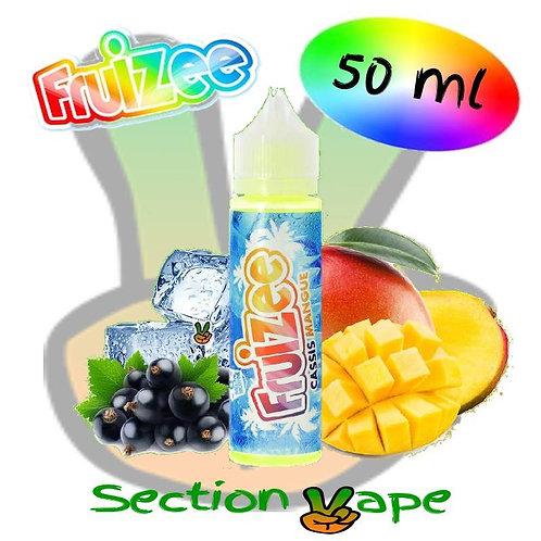 E liquide fruizee 50ml Cassis mangue, 0mg