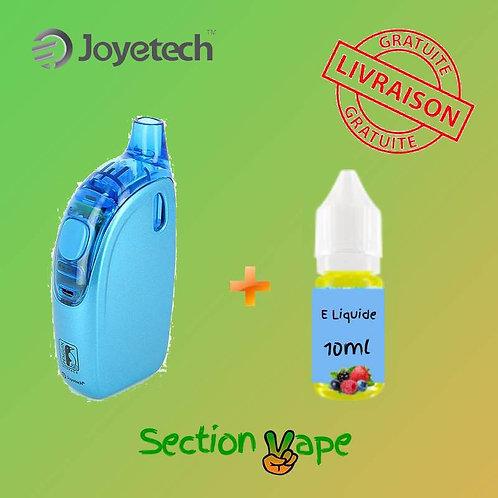 E- Cigarette Joyetech Penguin bleue + 1 liquide 10ml
