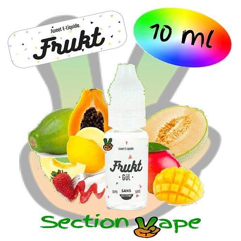 E liquide 10ml frukt, gul