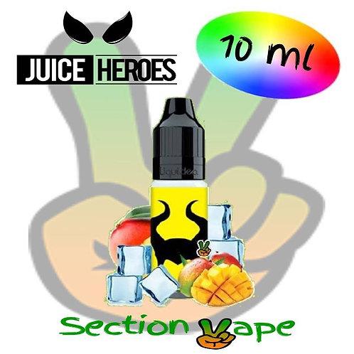 E liquide 10ml Blackbull, Juice Heroes
