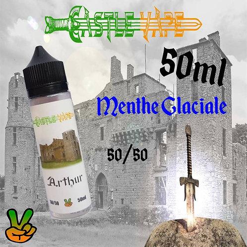 E-liquide Castle Vape, Arthur, Menthe glaciale 50ml