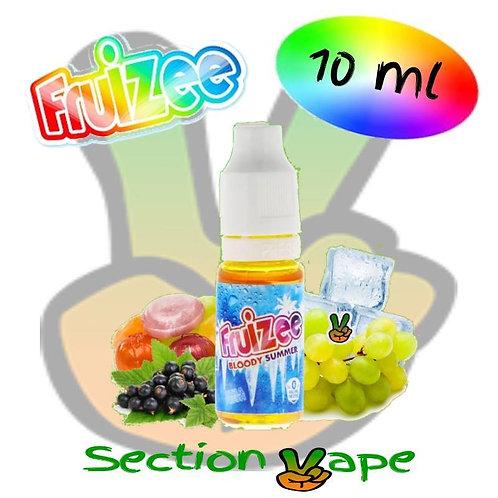 E liquide 10ml fruizee Bloody summer