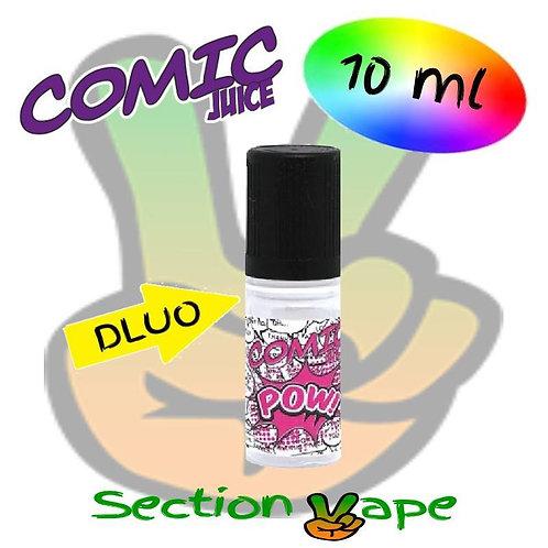 E liquide 3 x 10ml Comic Juice Pow 0mg