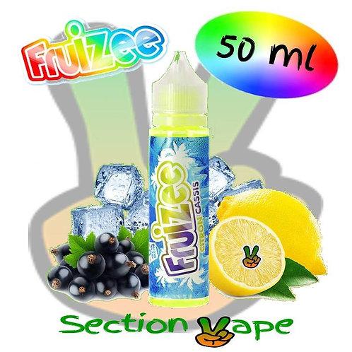 E liquide fruizee 50ml Citron / Cassis, 0mg