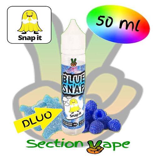 E liquide Bonbon framboise bleue, snap it, 50ml,