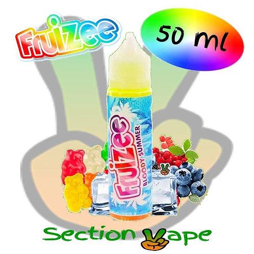 E liquide 50ml Bloody Summer Fruizee, 0mg
