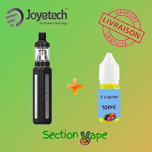 Joyetech exceed x 1000 mah noir + 1 liquide 10ml
