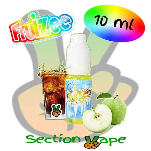 E liquide 10ml fruizee Cola / pomme
