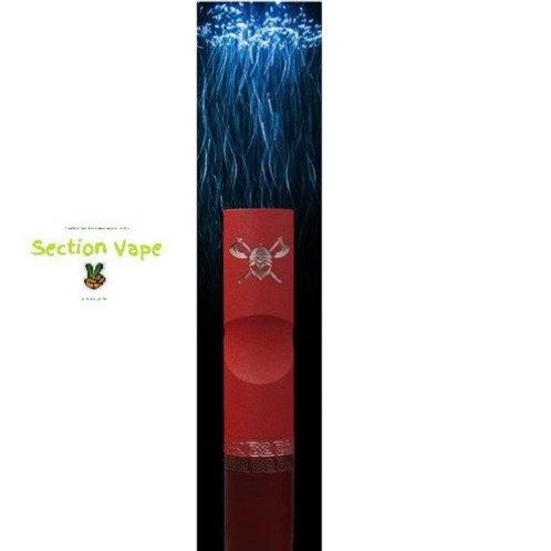 "SerisVape Viking Mod rouge / or+ 1 kit liquide ""diy"""