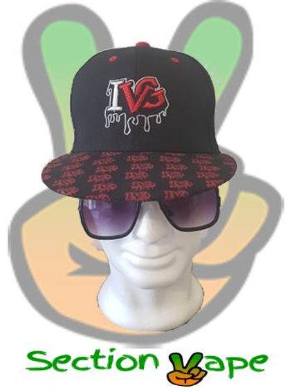 Casquette IVG (I vape great) noire