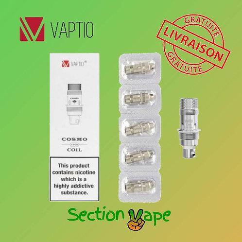 5 résistances solo, p1 mini , 0.25 ohm Vaptio