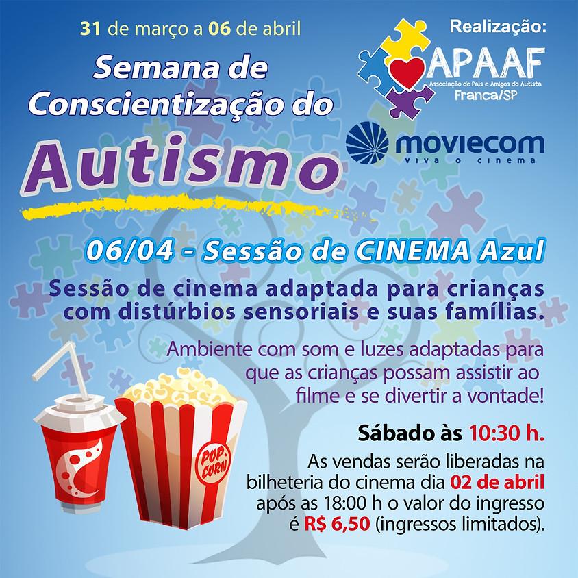 Sessão de Cinema Azul APAAF & Moviecom