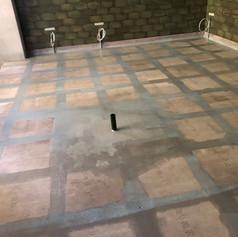 Kitchen Floor Tanked