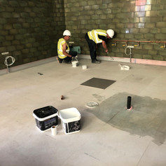 Kitchen Floor Tanking