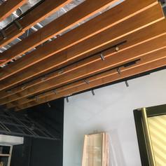 FIgo Rafters and Track Lighting