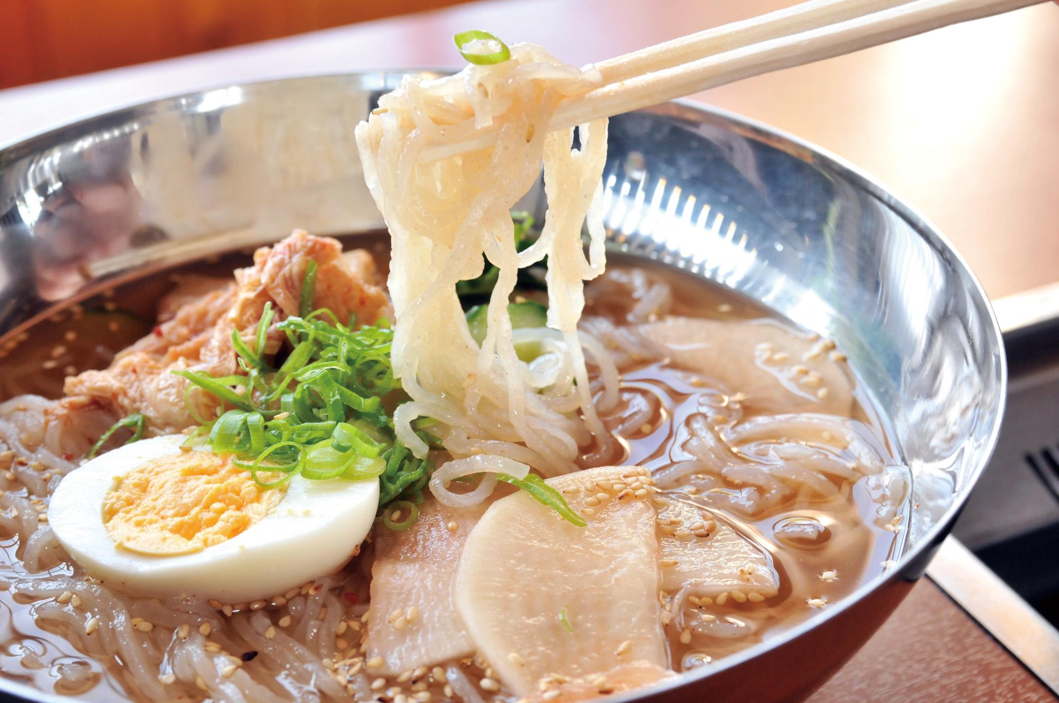 冷麺(期間限定の美味)