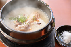 滋養たっぷりの参鶏湯