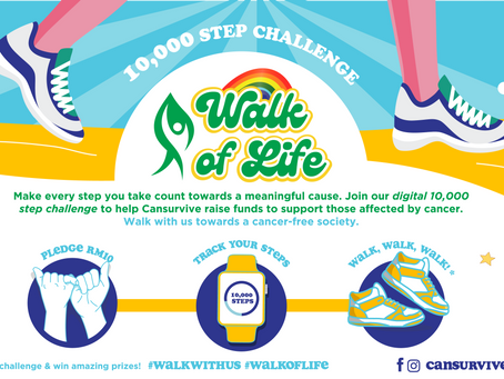 Cansurvive launches 'Walk of Life' campaign to raise funds for the cancer community
