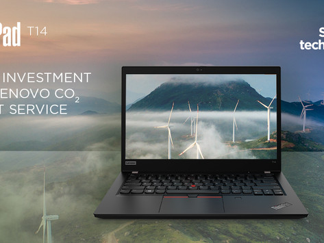 Lenovo's new service lets companies offset their Computers' CO2 Emissions