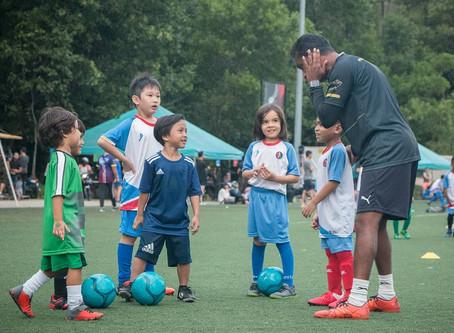 Little League Soccer organises COVID-19 fundraiser