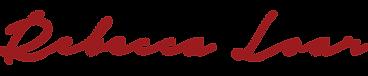 Rebecca Loar Logo