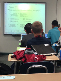 Students at SMS begin learning with Chromebooks