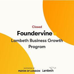 Lambeth Business Growth Program
