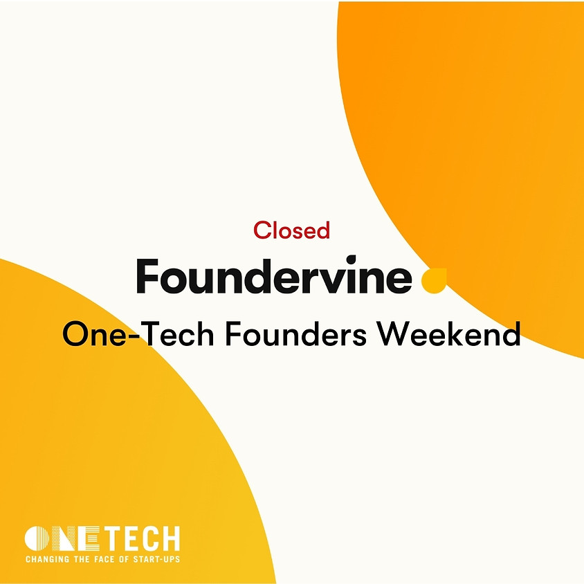 One Tech Virtual Founders Weekend for 18 - 24 year olds