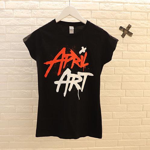 April Art - Pure Logo - T-Shirt - Girls