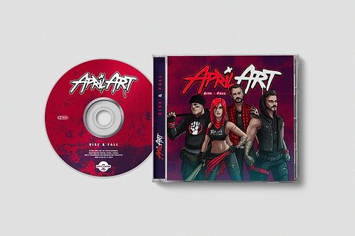 April Art - Rise & Fall - CD
