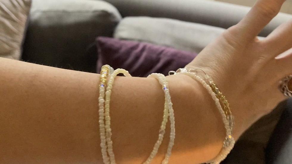 Long necklace/wraparound bracelet