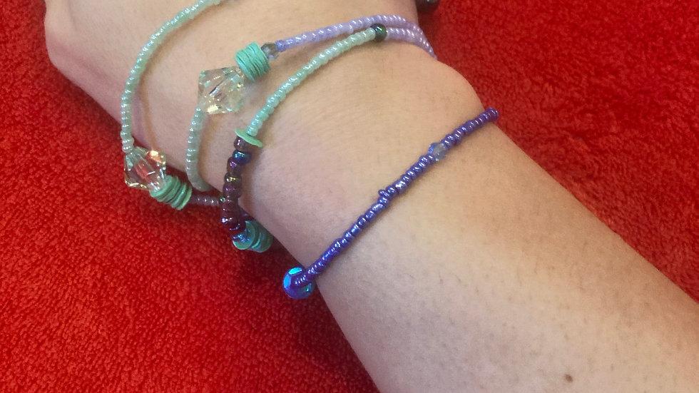 Necklace/wrap around bracelet