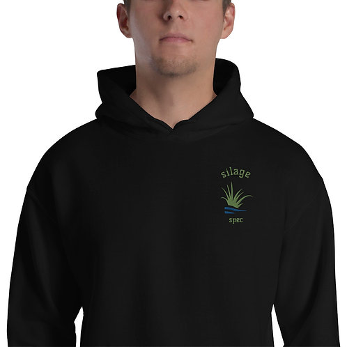 Silage Spec Embroidered Hoodie