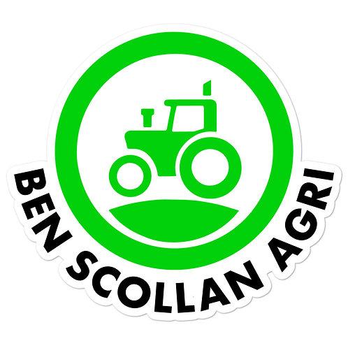 Ben Scollan Agri Sticker