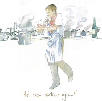 He's been cooking again! Print