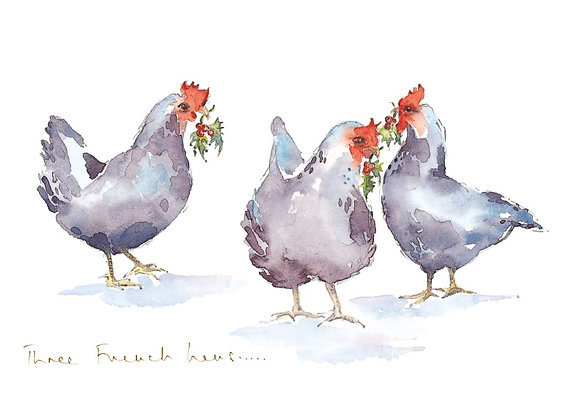 Three French hens (6)