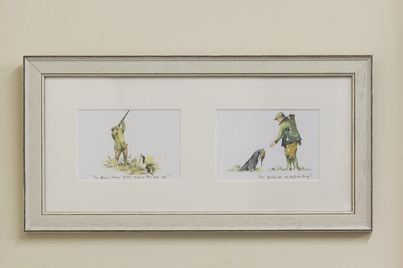 I'm going home if & The perfect relationship framed print