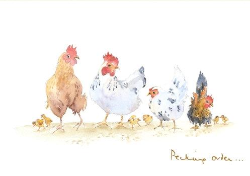 Print - Pecking order