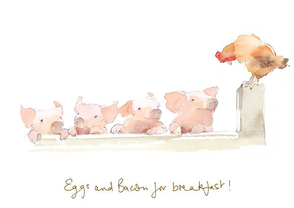 Eggs and bacon for breakfast! (CH/115)