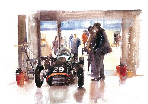 Classic Racing A4 Print