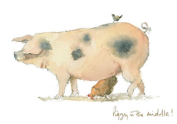 Piggy in the middle (L CH/92)