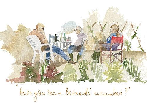Have you seen Bernard's cucumbers?! (G/3)