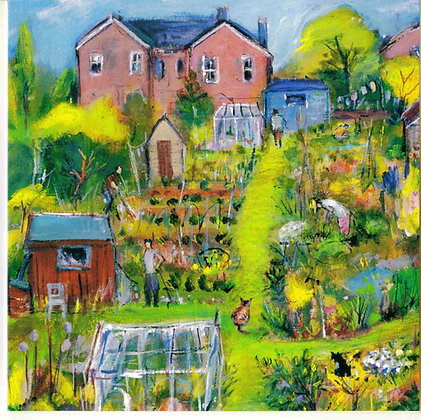 Watching the workers on the allotments (JC/24)