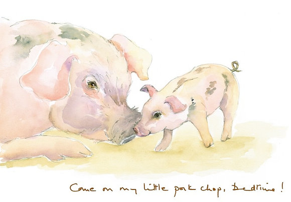 Come on my little pork chops...bedtime (L CH/101)