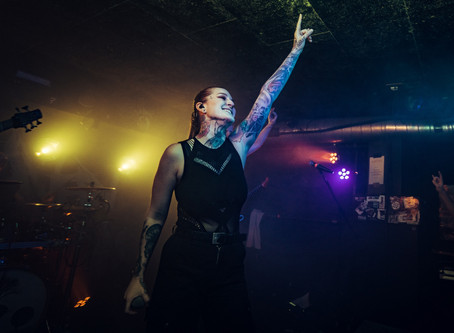 LAURA GIERL - METAL TAUGHT ME THAT I CAN BE MYSELF