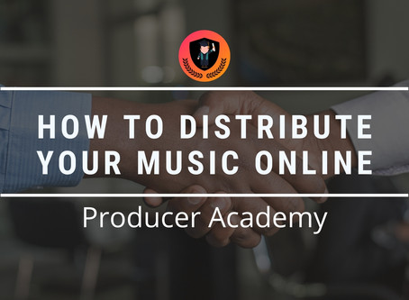 How to distribute your Music online